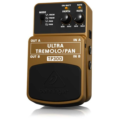 Behringer Tp300 Ultra Classic Stereo Tremolo/Panner Effects Pedal