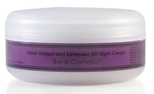 Bomb Cosmetics Violet & Lavender Night Cream 100ml