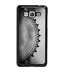 Fuson Premium Giant Wheel Metal Printed with Hard Plastic Back Case Cover for Samsung Galaxy Grand Prime G530H