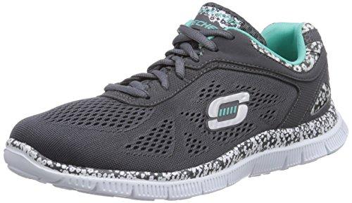 Skechers - Flex AppealIsland Style, Sneakers da donna, grigio (gyw), 39