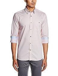 Raymond Men's Casual Shirt (8907249266032_RCSX00606-Y5_Multicolor_44)