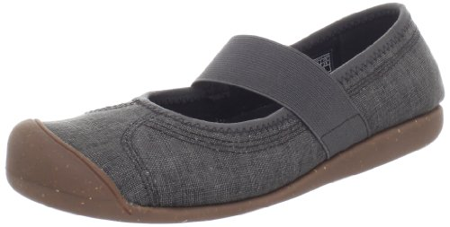 Keen Women'S Sienna Mj Canvas Shoe,Black/Black,8 M Us front-961417