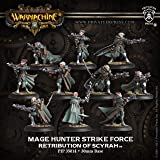Warmachine: Retribution of Scyrah Mage Hunter Strike Force Unit (10 figures)