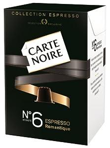 Get Nespresso Carte Noire No.6 ROMANTIQUE Espresso Coffee Capsules (10 Capsules) - Carte Noire