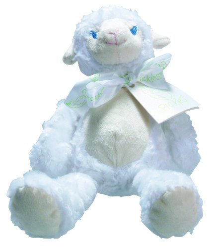 Pickles Plush Rattle, Lamb - 1