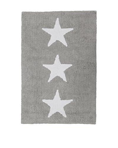 Happy Decor Kids Teppich Hdk-Three Stars grau