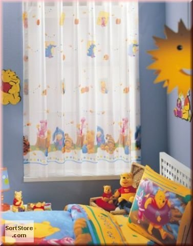 Winnie the Pooh Curtain winnie the pooh winnie the pooh and the wrong bees