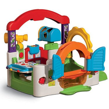 New Little Tikes Baby Activity Garden Kids Babies Learning Doors Window Gym Toy Ebay