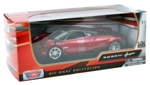 richmond-toys-124-pagani-huayra-die-cast-collectors-model-car-metallic-red