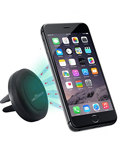 Mobile Phone Car Mount - Air Vent Smartphone Car Mount with Magnetic One Step Mounting Technology - Best Cell Phone Holder for Your Car - Compatible with All Phones