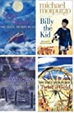 MICHAEL MORPURGO FOUR BOOK SET COLLECTION ESCAPE FROM SHANGRI-LA / BILLY THE KID / LONG WAY HOME / TWIST OF GOLD MICHAEL MORPURGO