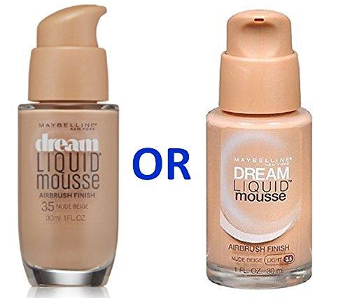 Maybelline Dream Liquid Mousse Foundation- NUDE BEIGE (LIGHT 3.5)