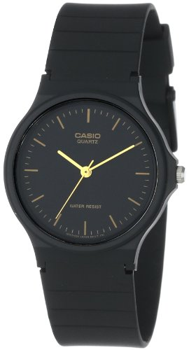 Casio Men's MQ24-1E Black Resin Watch image