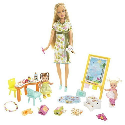 Barbie....i Can Be... Art Teacher Playset - Buy Barbie....i Can Be... Art Teacher Playset - Purchase Barbie....i Can Be... Art Teacher Playset (Mattel, Toys & Games,Categories,Dolls,Playsets,Fashion Doll Playsets)