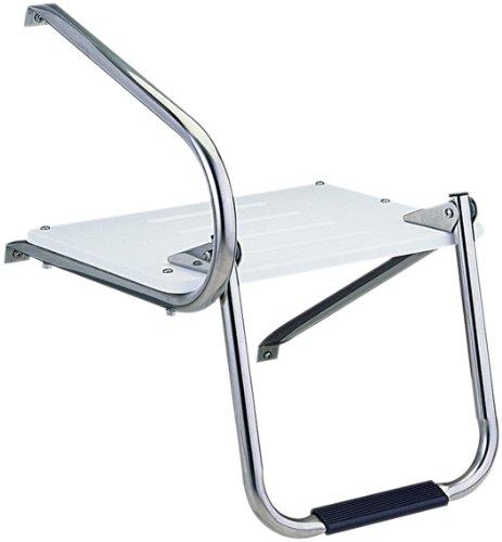 Garelick/EEz-In 19535:01 Marine Outboard Swim Platform With Fold Down Ladder Step