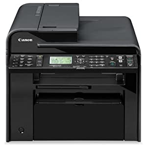 Canon Laser imageCLASS MF4770n Monochrome Printer with Scanner, Copier and Fax