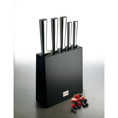 Stainless Steel 6 Piece Knife Block Set