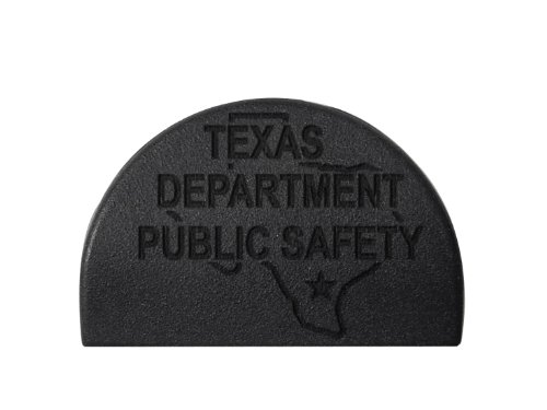 Police Tx Dps State Ol Engraved Jentra Jp-1 Grip Slug Plug For Glock 17 19 20 21 22 23 24 31 32 34 35 37 38 Gen 1-3 By Ndz Performance