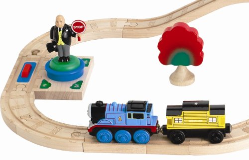 Thomas And Friends Wooden Railway Battery Powered Sir Topham Hatt