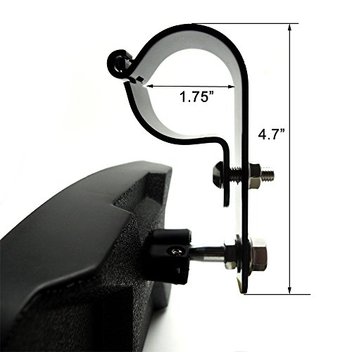 1 75 Quot Clamp Side View Mirror With Bracket For Utv Polaris
