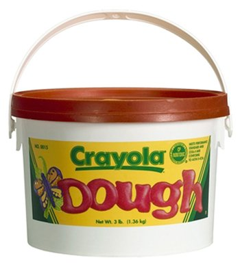 Modeling Dough 3Lb Bucket Red -- Case of 3