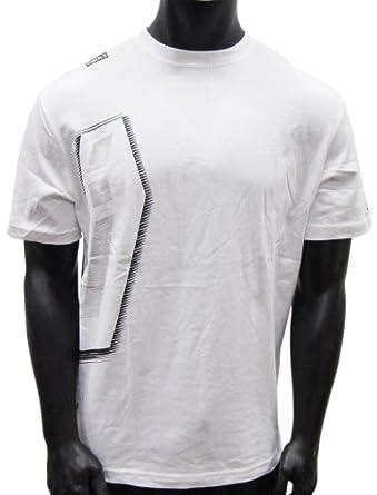 San Antonio Spurs Shockwave Side Logo White T-shirt by UNK