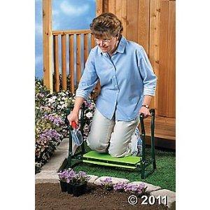 2 In 1 Gardener 39 S Kneeler Bench Or Folding Garden Seat Outdoor Benches Patio