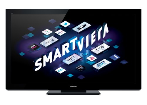 Panasonic Smart VIERA TX-P65VT30B 65-inch Full HD 1080p 3D 600Hz Internet-Ready Plasma TV with Freeview HD and Freesat HD (Installation Recommended)