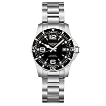 Longines Sport Black Dial Automatic Stainless Steel Ladies Watch L32844566
