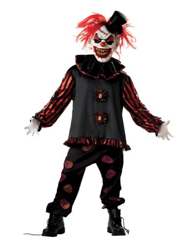 Carver The Clown Child Costume Lg Kids Boys Costume
