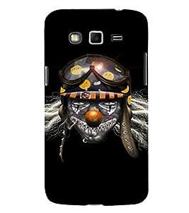 EPICCASE Skully Pilot Mobile Back Case Cover For Samsung Galaxy Core Prime (Designer Case)