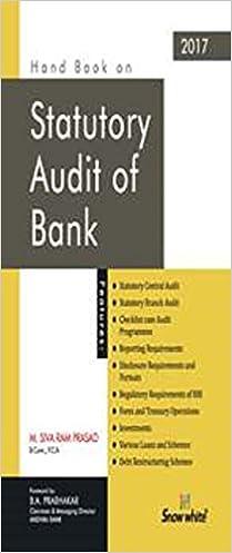 Handbook on Statutory Audit of Bank - 2017