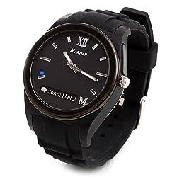 Martian Watches Notifier Smartwatch - Retail Packaging - Black