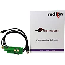 Red Lion SFCRUSB1 3 Piece USB Programming Kit for Model PAXUSB USB Programming Card