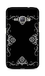 Amez designer printed 3d premium high quality back case cover for Samsung Galaxy J1 (2016 EDITION) (Abstract Dark 33)