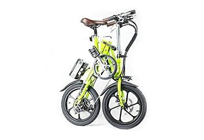 KwiKfold® Folding Electric bike Shimano Gears