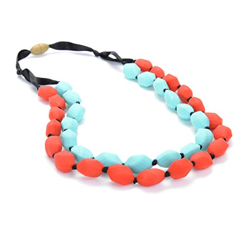 Chewbeads Astor Necklace - Cherry Red - 1