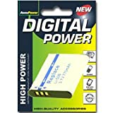 AccuPower battery suitable for Olympus LI-50B, 650mAh