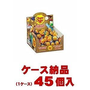 【ご注意ください!1ケース納品です】森永製菓 チュッパチャプス ザ・ベスト・オブ・フレーバー 1本×45個入(1ケース)