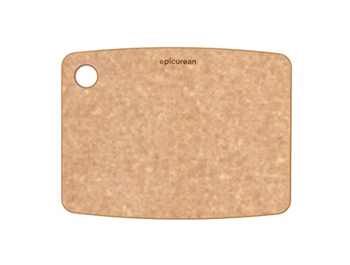 Epicurean Kitchen Series Cutting Board, 8-Inch by 6-Inch, Natural