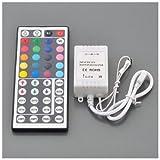 SODIAL(R) IR Control Remoto 44 Teclas para RGB LED Cinta de Luz