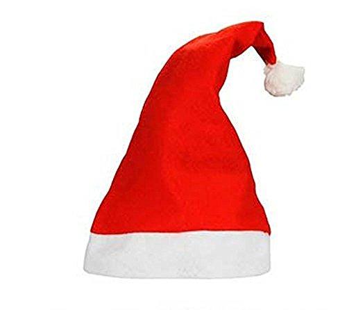 Santa Hat Packs of 3 5 10 20 25 50 100