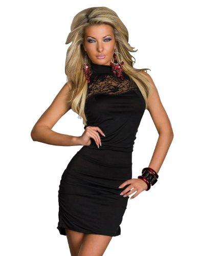 gedang Geschäft: Eng anliegendes Minikleid Kleid Spitze Gr. 8 8