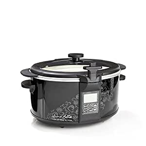 Amazon.com: Lorena Garcia 6.5qt Slow Cooker and Multi-Use Pan with