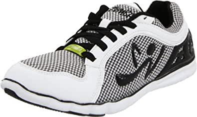 Zumba Women's Z1 Dance Shoe,White,5 W US
