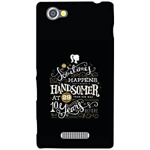 Sony Xperia M Back Cover - Summer Designer Cases
