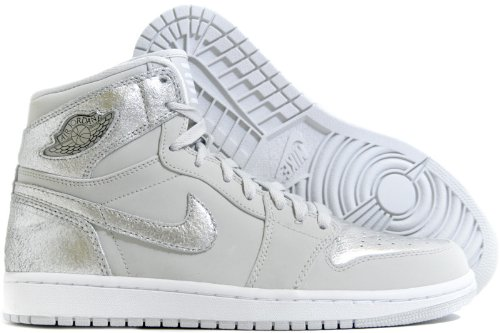 Nike Men's Air Jordan 1 Retro High Silver Anniversary