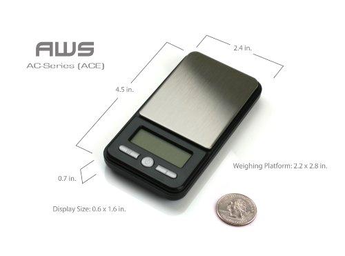 AMW ACE DIGITAL POCKET BALANCE 650 X 0.1G