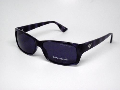 Emporio Armani Unisex Sunglasses Avana Blue Frame