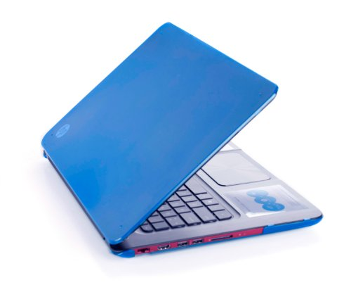 iPearl mCover HARD Shell CASE for 15.6-inch HP ENVY 6 1XXX series sleekbook laptop (Blue)
